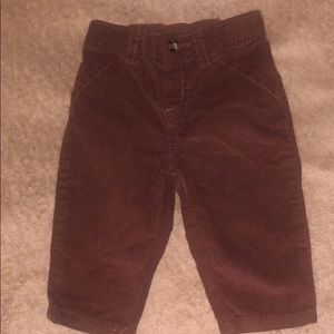 ✨4/$15 ✨Baby boy 3m Corduroy Pant in brown